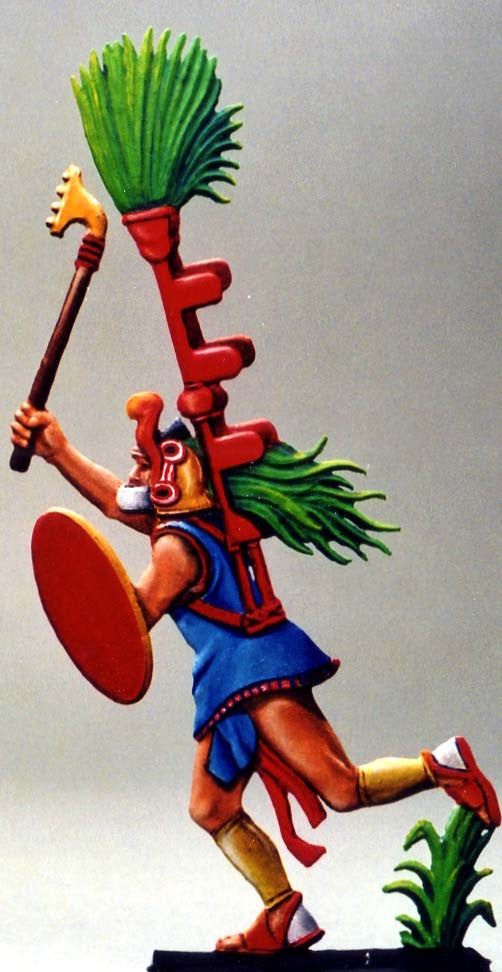 Warrior Attacking - Glorious Empires-Historical Miniatures