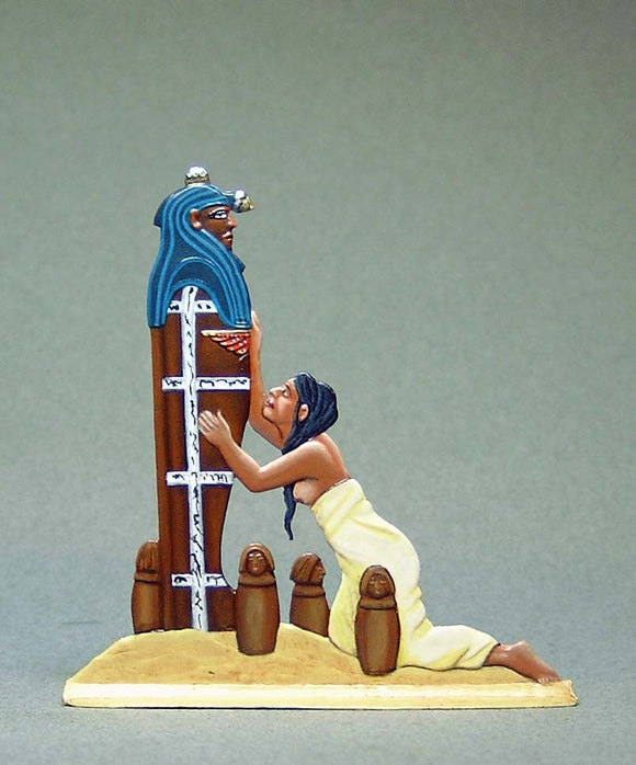 Wailing woman with Sarcophagus - Glorious Empires-Historical Miniatures