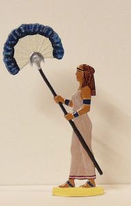 Serving Girl with Ostrich Feather Fan - Glorious Empires-Historical Miniatures
