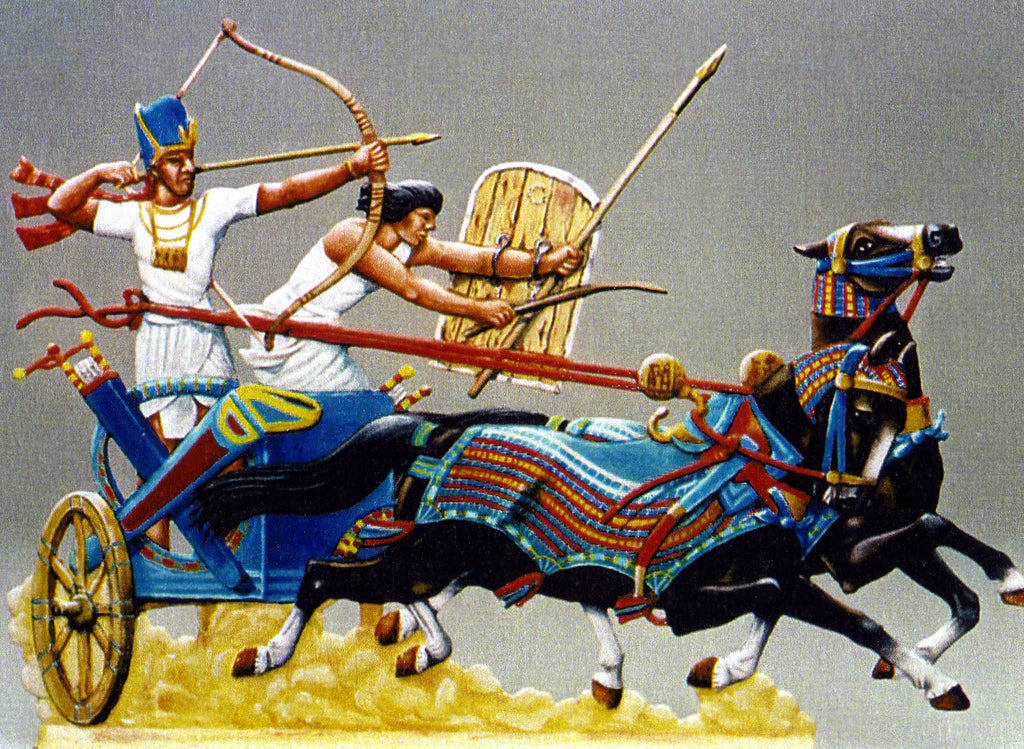 Pharaoh in his Chariot - Glorious Empires-Historical Miniatures