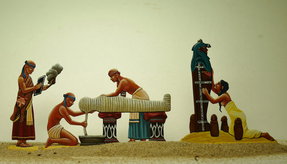 Embalming the Pharaoh - Glorious Empires-Historical Miniatures