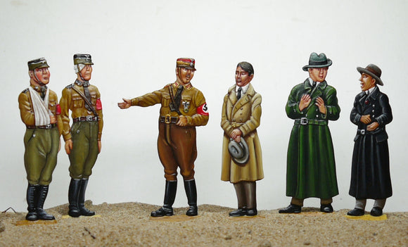 Adolf Hitler meets the wounded SA members (set AHA) - Glorious Empires-Historical Miniatures