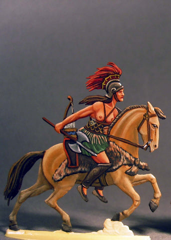 Amazon Warrior on Horseback