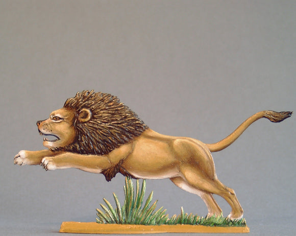 Lion Attacking - Glorious Empires-Historical Miniatures