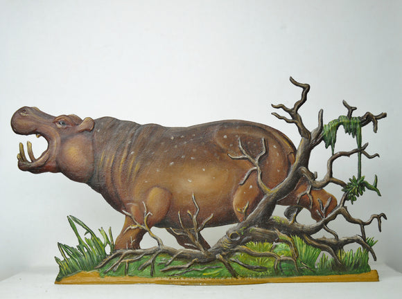 Hippo caught in Tree Roots - Glorious Empires-Historical Miniatures