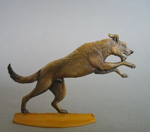 Dog jumping - Glorious Empires-Historical Miniatures