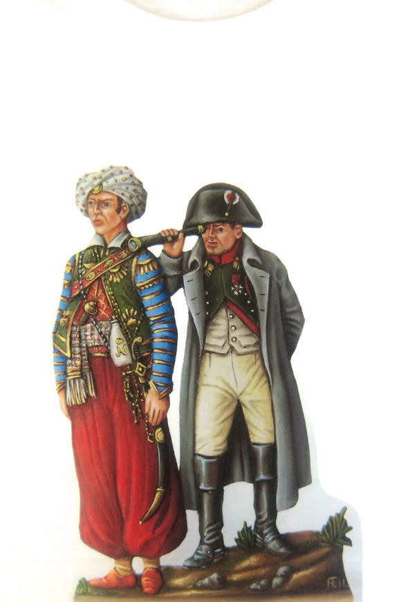 Napoleon and Roustan T-Shirt - Glorious Empires-Historical Miniatures