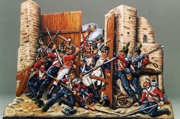 Hougoumont Gate, Waterloo - Glorious Empires-Historical Miniatures