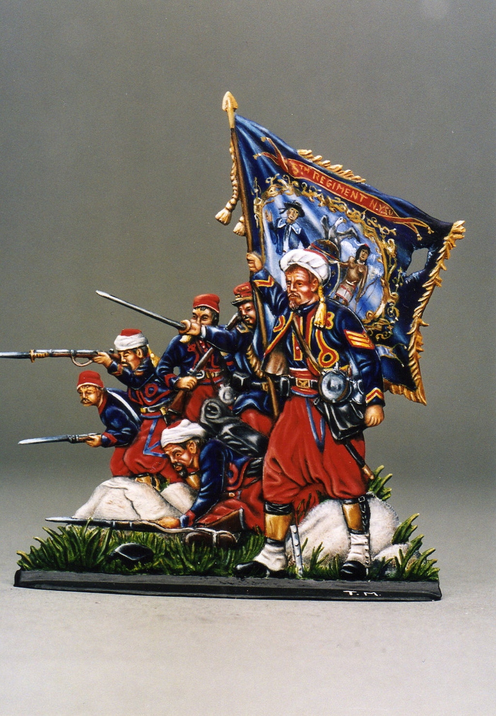 Red Devils, American Civil War - Glorious Empires-Historical Miniatures