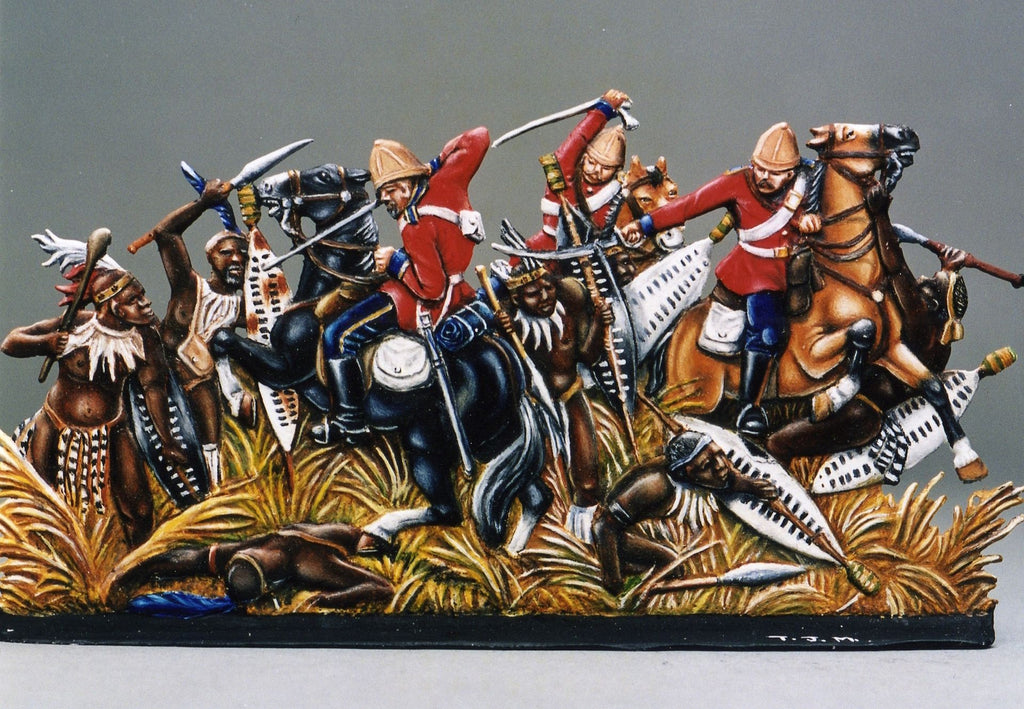 Ulundi, the Zulu War.