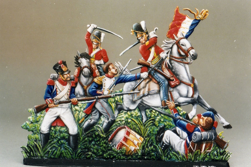 Capturing the Eagle, Waterloo - Glorious Empires-Historical Miniatures