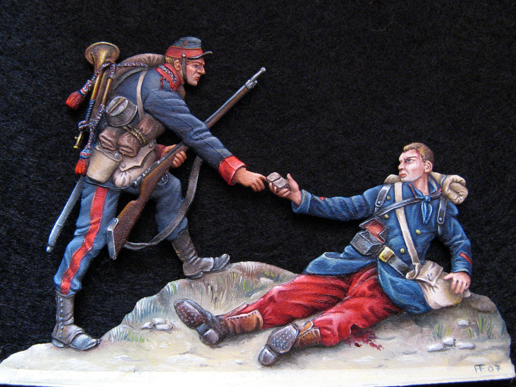 the Last bullet, 1870 - Glorious Empires-Historical Miniatures