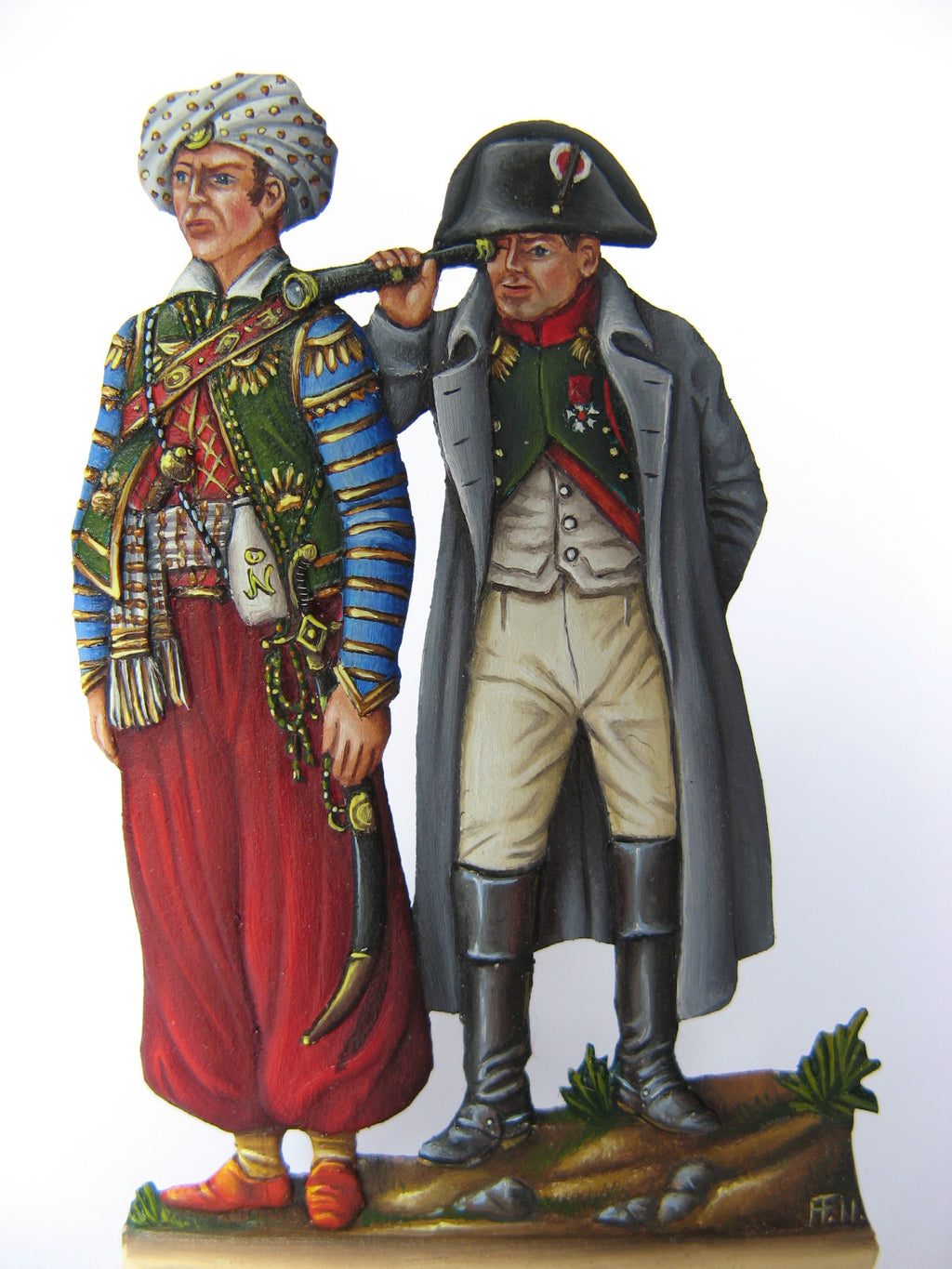 Napoleon and Roustan - Glorious Empires-Historical Miniatures