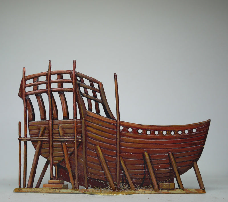 Landing barge - Glorious Empires-Historical Miniatures