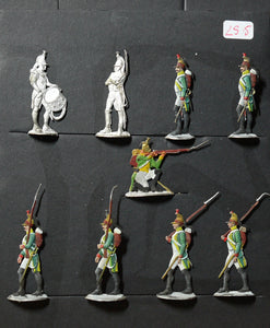Mignot, foot dragoons - Glorious Empires-Historical Miniatures