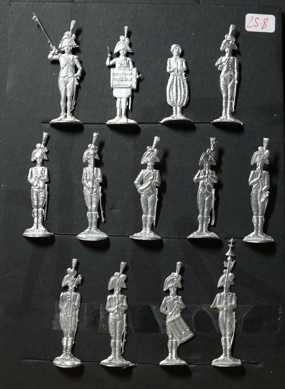 Mignot, musique de la Garde frontal - Glorious Empires-Historical Miniatures