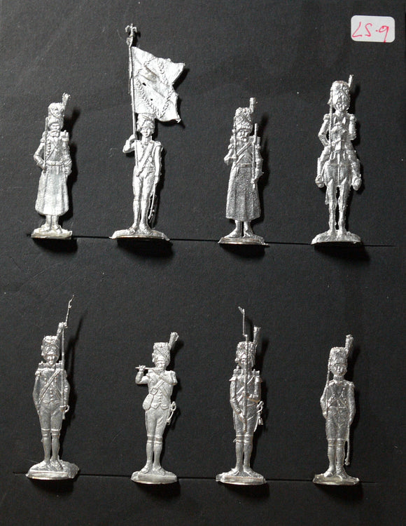 Mignot, infantry frontal - Glorious Empires-Historical Miniatures