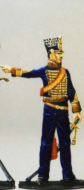 Staff Officer light cavalry - Glorious Empires-Historical Miniatures