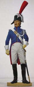 War in Spain: Foot gendarme, nr.1 uniform - Glorious Empires-Historical Miniatures