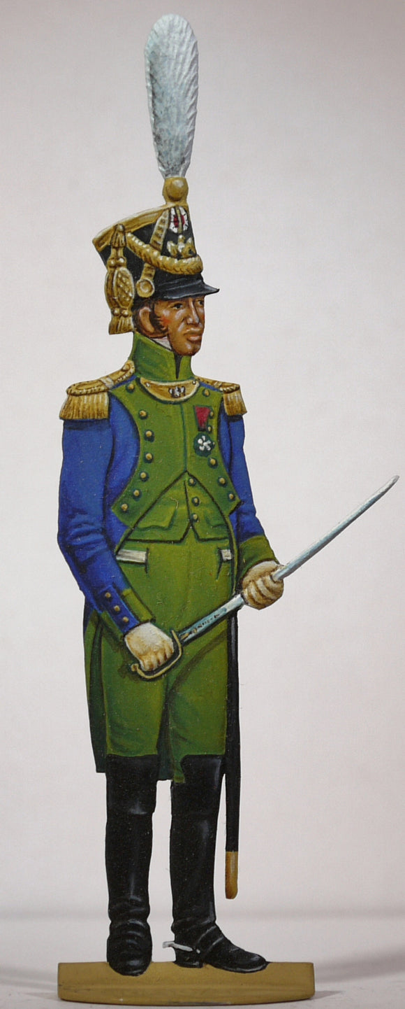 Coastguard, Colonel - Glorious Empires-Historical Miniatures