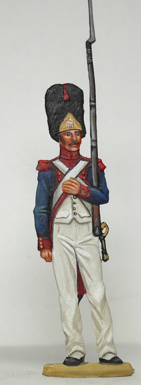 Grenadier on guard duty - Glorious Empires-Historical Miniatures