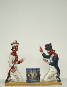 trooperand sapper playing cards - Glorious Empires-Historical Miniatures