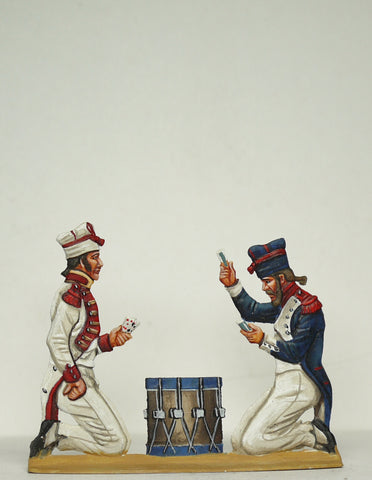 trooperand sapper playing cards