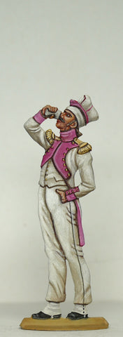 Grenadier drinking