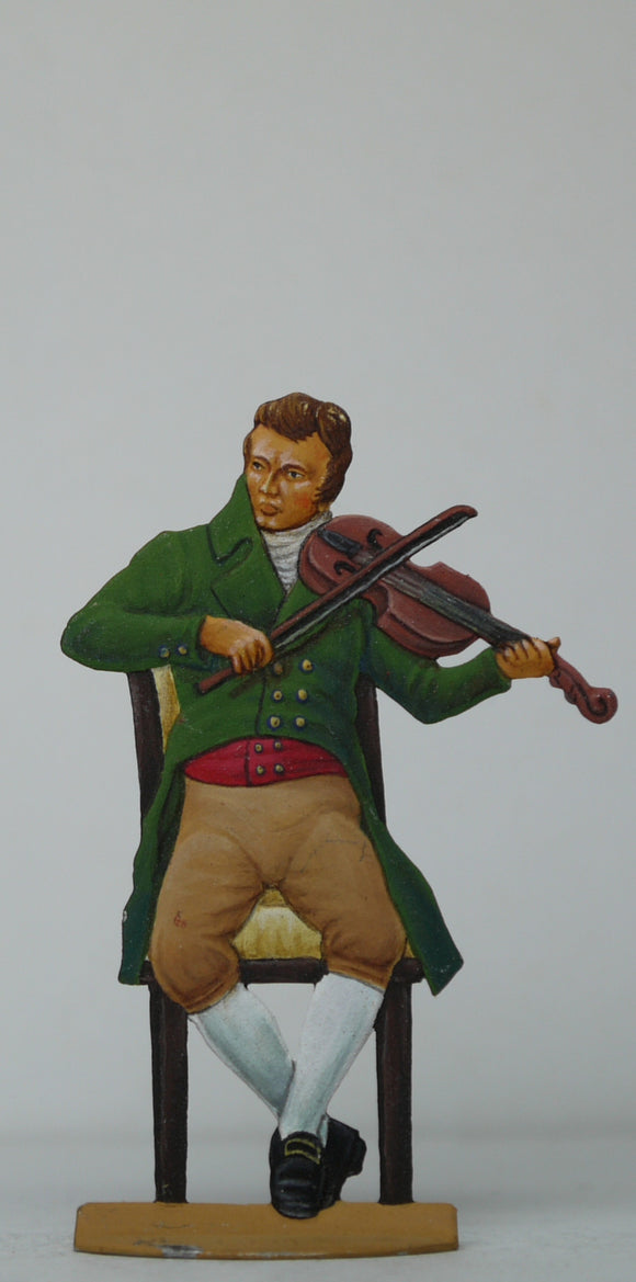 Violin player - Glorious Empires-Historical Miniatures