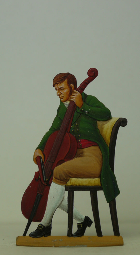 Cello player - Glorious Empires-Historical Miniatures