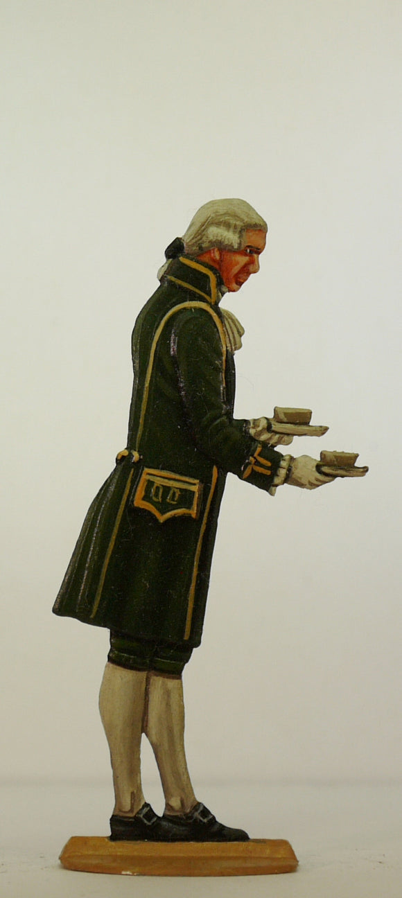 Valet serving cups of coffee - Glorious Empires-Historical Miniatures