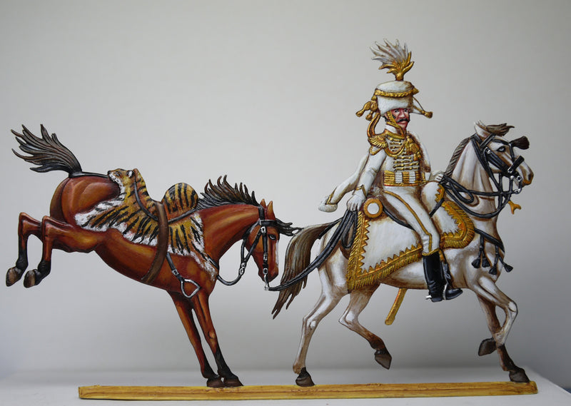 Trooper of the Guides de Murat with Murats horse - Glorious Empires-Historical Miniatures