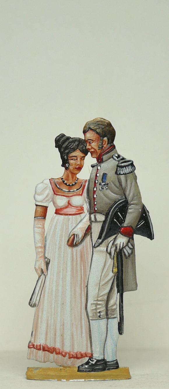 Couple smoozing - Glorious Empires-Historical Miniatures