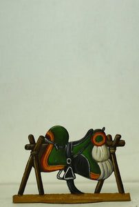 Saddle with saddle cloth, Guard Light Cavalry or Elite company Line Cavalry - Glorious Empires-Historical Miniatures