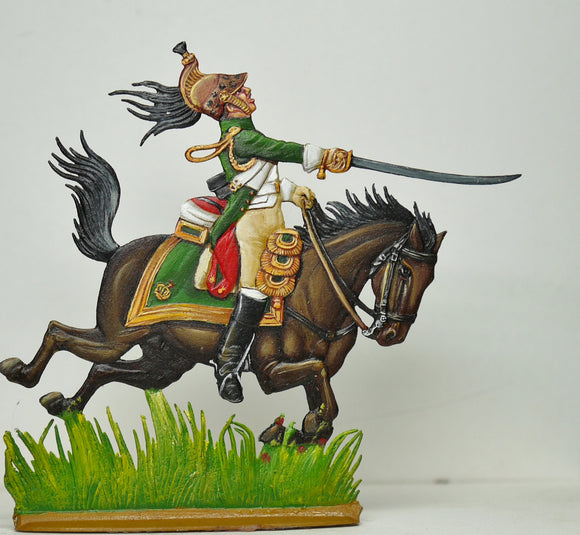 Empress Dragoon Officer - Glorious Empires-Historical Miniatures