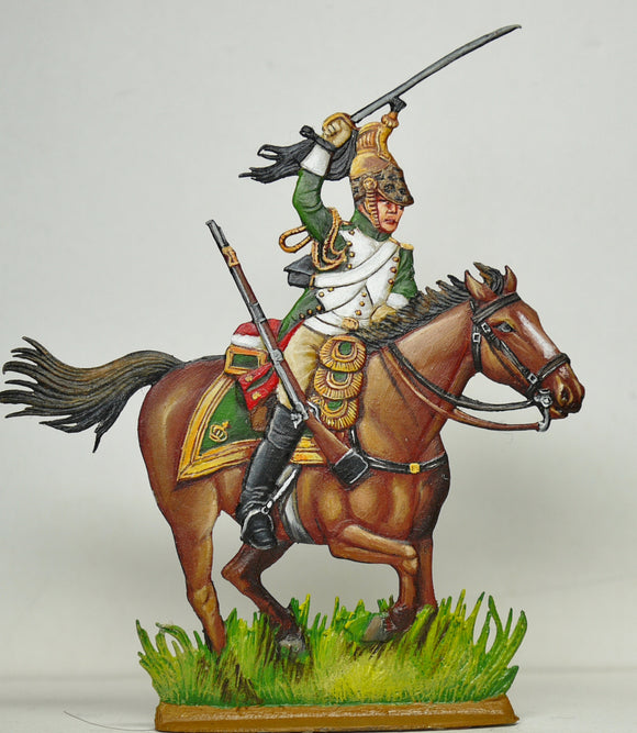 Empress Dragoon trooper - Glorious Empires-Historical Miniatures