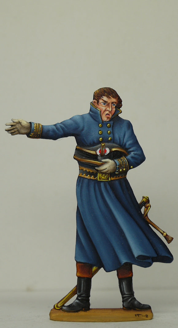 Marine Officer assisting Napoleon - Glorious Empires-Historical Miniatures