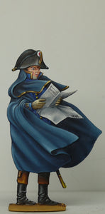 Marine Officer consulting map - Glorious Empires-Historical Miniatures