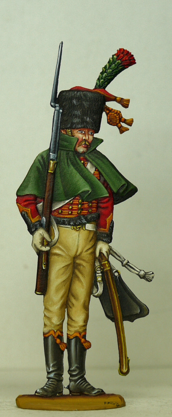 Guard Chasseur on Escorte duty - Glorious Empires-Historical Miniatures