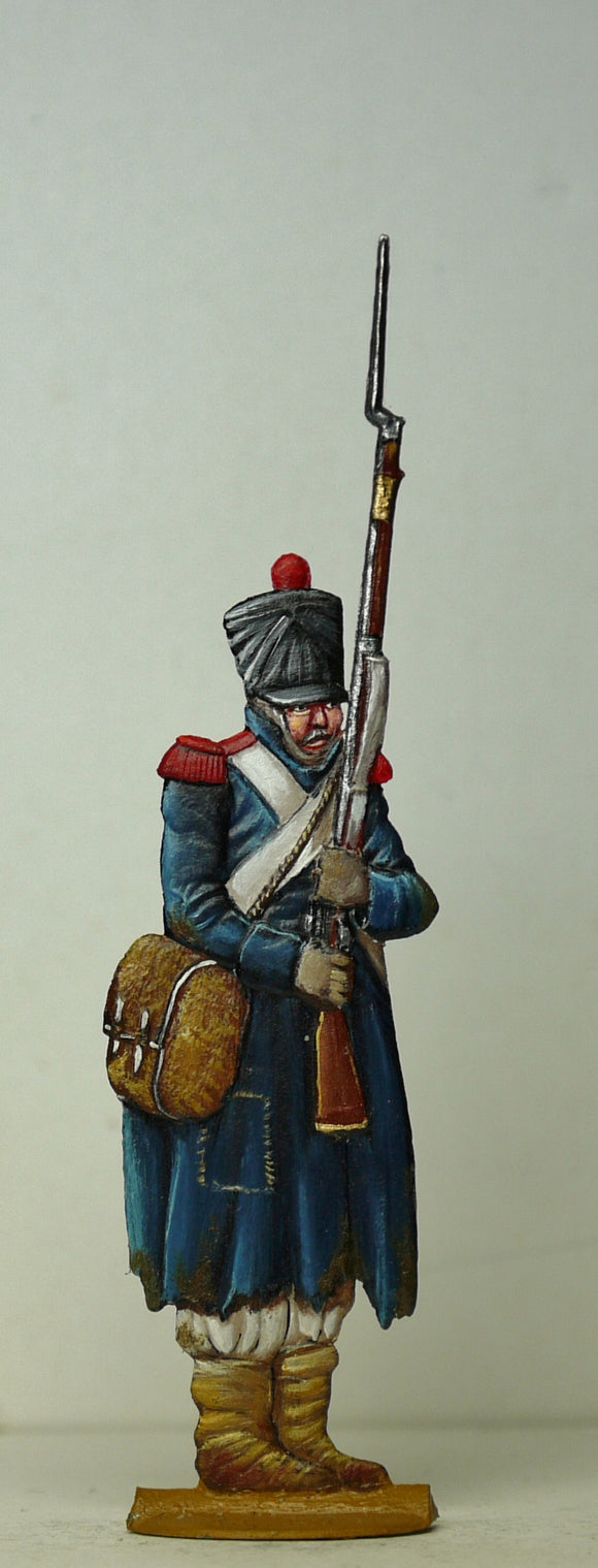 Sodier freezing - Glorious Empires-Historical Miniatures