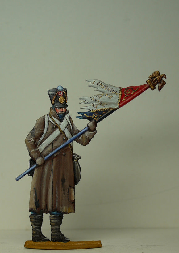 Soldier ready to burn Eagle - Glorious Empires-Historical Miniatures