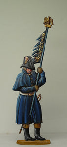 Officer waiting to burn Eagle - Glorious Empires-Historical Miniatures