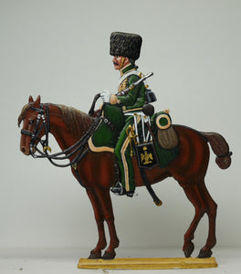 Chasseur Escort duty on horseback - Glorious Empires-Historical Miniatures