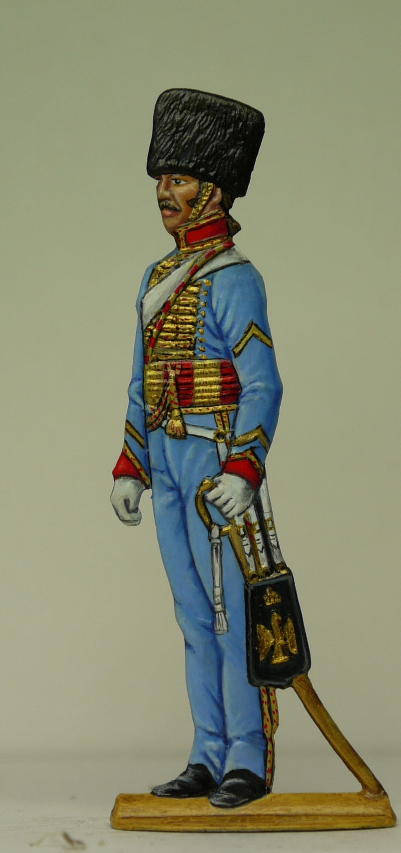 Chasseur trumpeter - Glorious Empires-Historical Miniatures