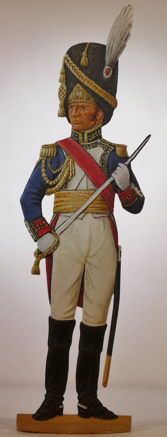 General Dorsenne, Guard Foot Grenadiers - Glorious Empires-Historical Miniatures