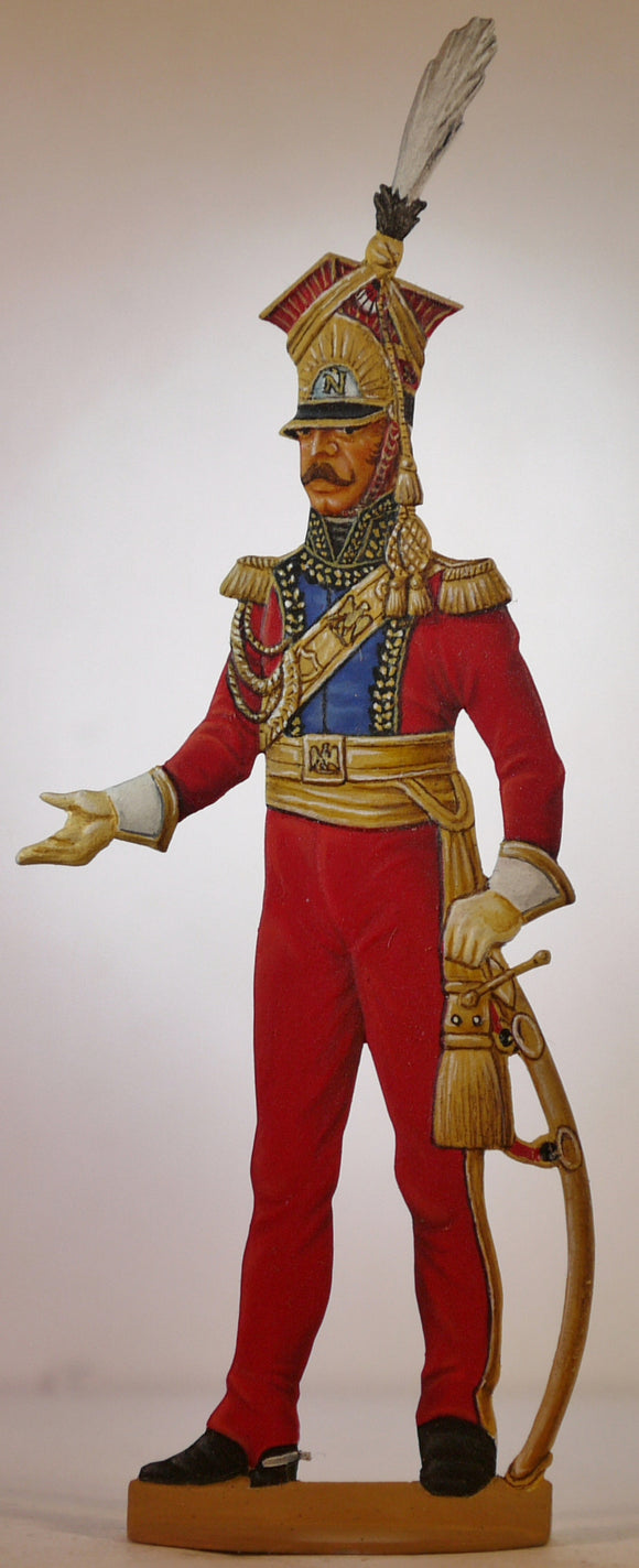 General Colbert, Guard Lancers - Glorious Empires-Historical Miniatures