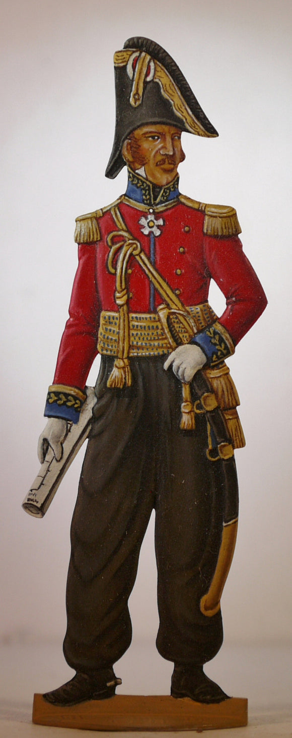 General Castella, Swiss Regiments. - Glorious Empires-Historical Miniatures