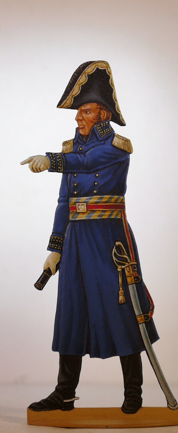 General de Division in greatcoat (en redingote) - Glorious Empires-Historical Miniatures