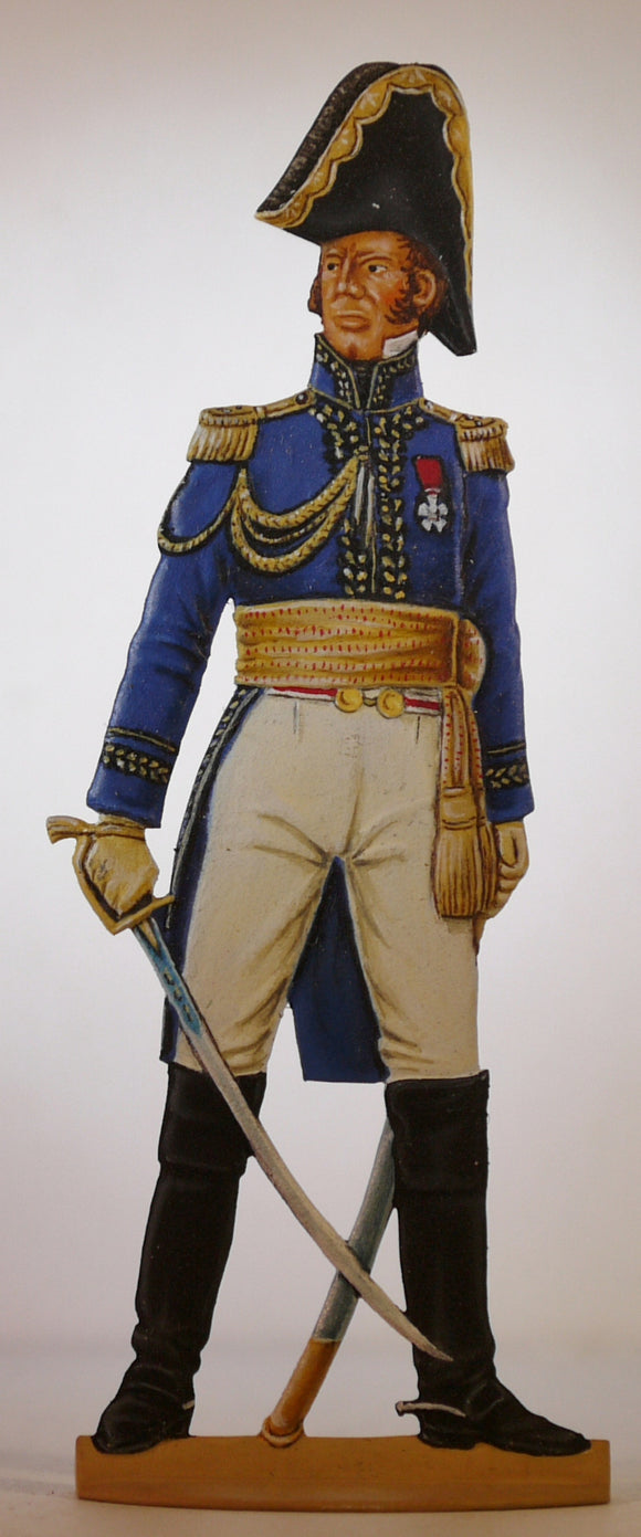 General de Division, Imperial Guard - Glorious Empires-Historical Miniatures
