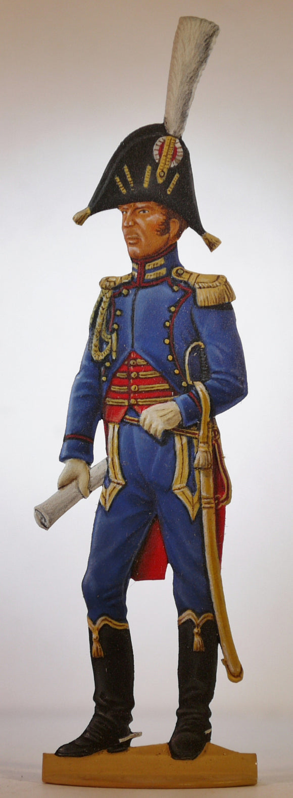 Assistant Chief of Staff Imperial Guard - Glorious Empires-Historical Miniatures